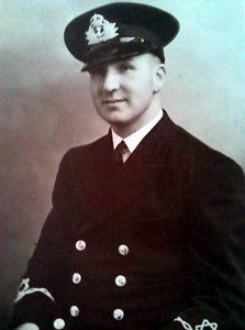 Skipper George Clarkson