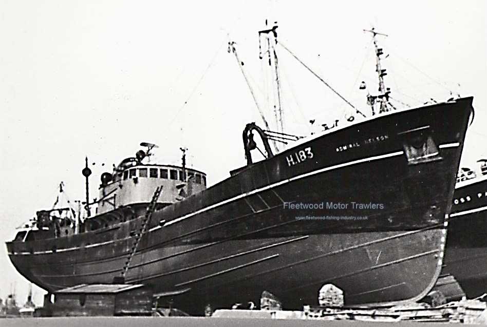 Boston deep sea fisheries fleetwood motor trawlers for How to ship fish